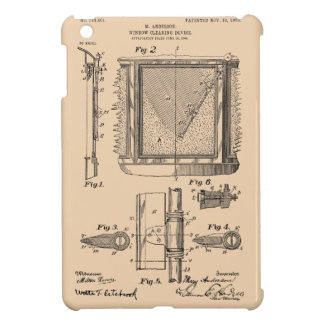 Windshield Wipers, Mary Anderson, Inventor iPad Mini Cover