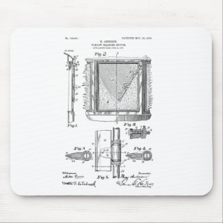 Windshield Wipers, Mary Anderson, Inventor Mouse Pad