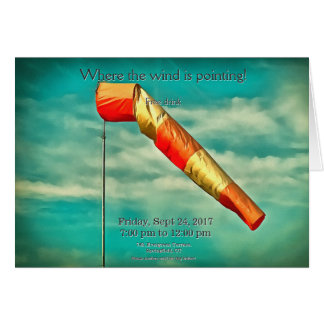 Windsock Card