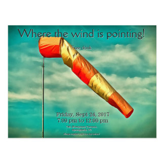 Windsock Postcard