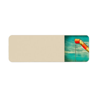 Windsock Return Address Label