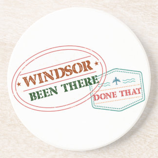 Windsor Been there done that Coaster
