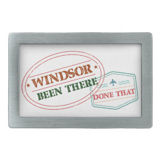 Windsor Been there done that Rectangular Belt Buckles