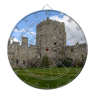 Windsor Castle in England Dartboard