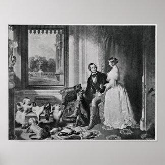 Windsor Castle in modern times Poster