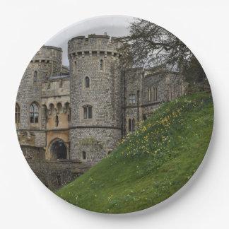 Windsor Castle in Windsor England Paper Plate