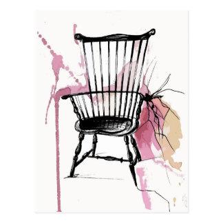 Windsor Chair Postcard