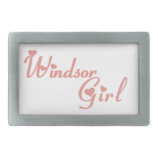 Windsor Girl Belt Buckle