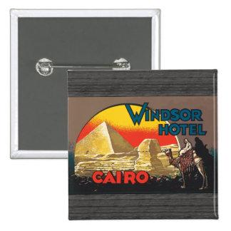 Windsor Hotel Cairo Vintage Pins