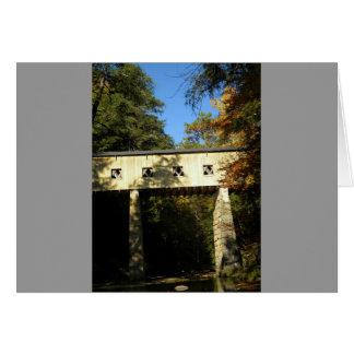 Windsor Mills Rd Covered Bridge Ashtabula County O Greeting Card