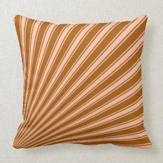 Windsor tan Funky Sun Rays Background Cushion