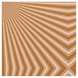 Windsor tan Funky Sun Rays Background Fabric