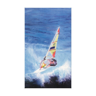 Windsurf Canvas Print