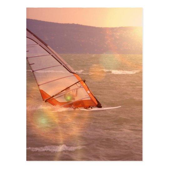 Windsurf Design Postcard