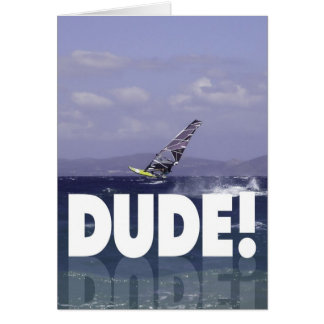 Windsurfer Birthday for Him Card