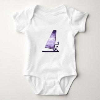 Windsurfer Design Baby T-Shirt