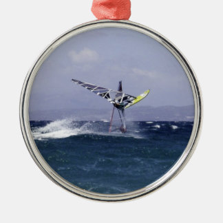 Windsurfer in the Air Ornament