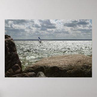 Windsurfer - poster