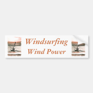 WINDSURFING BUMPER STICKER