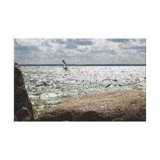 Windsurfing - canvas