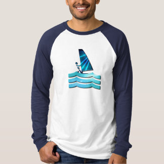 Windsurfing Design Long Sleeve Shirt