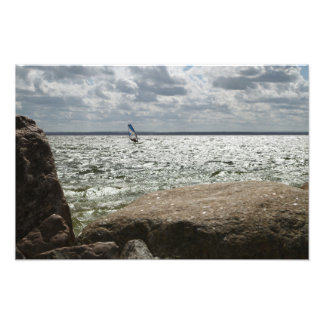 Windsurfing - photo print