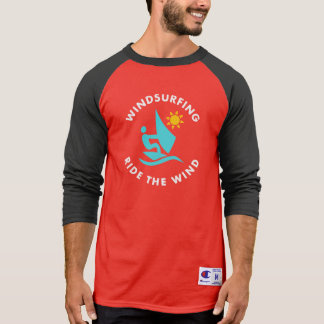 Windsurfing Ride The Wind T-Shirt