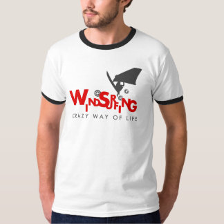 Windsurfing t-shirt for windsurfing addicts