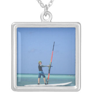 Windsurfing Teen Necklace