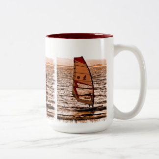 WINDSURFING Two-Tone COFFEE MUG