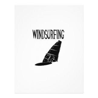 windsurfing v2 black text sport windsurf windsurfe personalized flyer