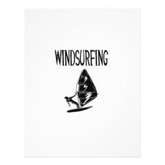 windsurfing v4 black text sport windsurf windsurfe full color flyer