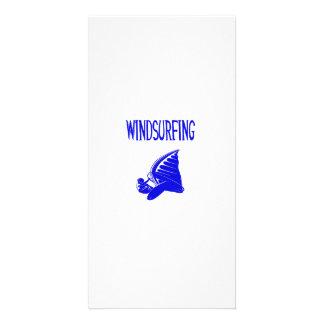 windsurfing v5 blue text sport.png custom photo card
