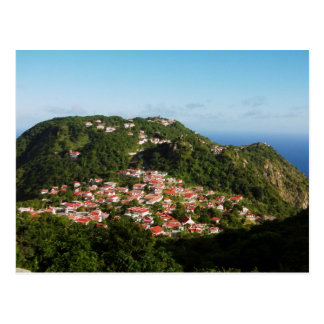 Windwardside Saba Postcard