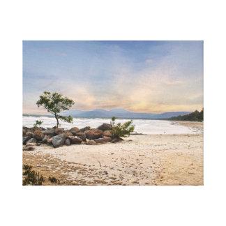 Windy 4mile beach gallery wrap canvas