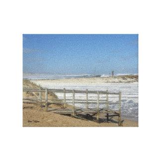 Windy Beach Canvas Print