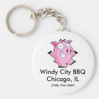 Windy City BBQ Key Ring