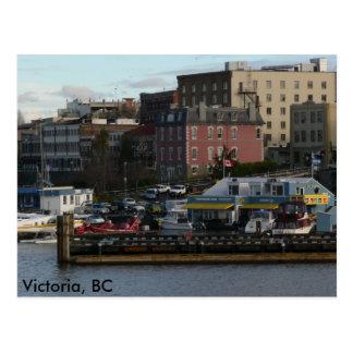 Windy Road Victoria, BC Postcard