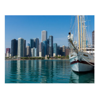 Windy Sailing Postcard