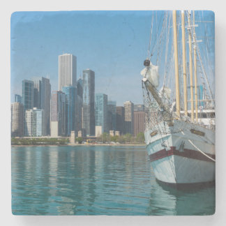 Windy Sailing Stone Coaster