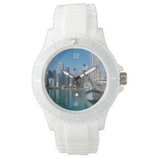 Windy Sailing Wristwatch