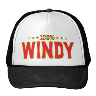Windy Star Tag Cap
