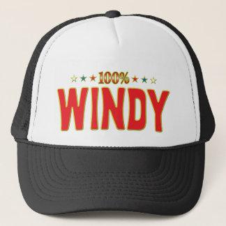 Windy Star Tag Trucker Hat