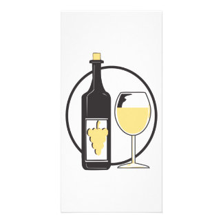 Wine a little photo cards