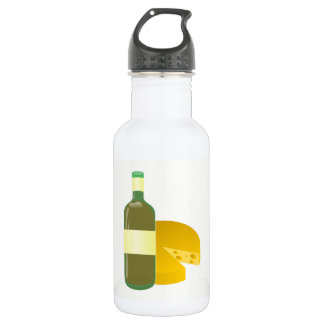 Wine and Cheese 532 Ml Water Bottle