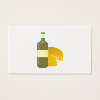 Wine and Cheese Business Card