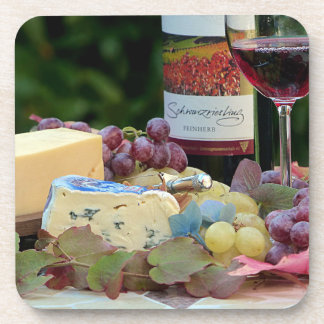 Wine and Cheese Coasters