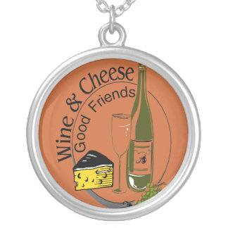 Wine and Cheese Good Friends Jewelry