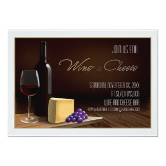 Wine and Cheese Party Invite