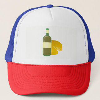 Wine and Cheese Trucker Hat